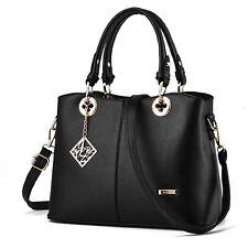 Large Ladies Handbag Shoulder Bags Tote Purse PU Leather Messenger Satchel Lot T