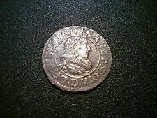 1631 D Francia Luigi XIII DOUBLE TOURNOIS Coin. alta qualità