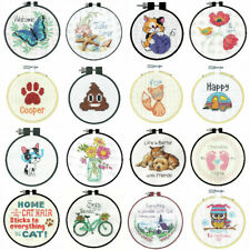 Dimensions Counted Cross Stitch Kit With Hoop Beginners Learn A Craft