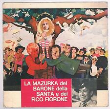 """TOMMASI AMEDEO LA MAZURKA DEL BARONE DELLA SANTA E FICO FIORONE OST 7"""" 45 GIRI"""