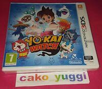 YO-KAI WATCH NINTENDO 3DS NEUF VERSION FRANCAISE