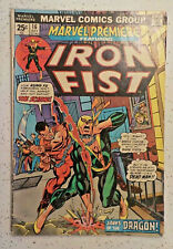 Marvel Premiere #16 ! 1974 ! 2nd-EVER IRON FIST ! DICK GIORDANO ! hayfamzone