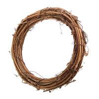 Handmade Natural Dried Rattan Wreath Garland Wall Home DIY Decor 10 15 20 30CM