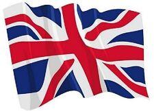 Aufkleber wehende Flagge Grossbritannien Fahne wehend 28 x 20 cm Autoaufkleber