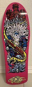 Jason Jessee Santa Cruz Neptune Reissue Skateboard Deck Raspberry Dip
