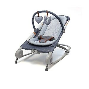 Summer Infant 2-in-1 Baby Bouncer & Baby Rocker Duo (Heather Gray) with Soothing