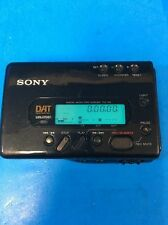 SONY TCD-D8 PORTABLE WALKMAN DAT RECORDER PLAYER WORK GREAT BUY IT NOW ~TCD-D100