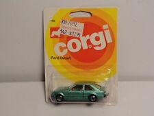 1981 CORGI Die-Cast Metal Ford Escort Blister Pack #105