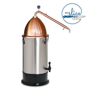 Still Spirits Alembic Pot Still + 25LT Turbo Boiler - Spirits, Essential Oil