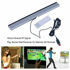 Wired Infrared IR Signal Ray Sensor Bar/Receiver for Nitendo Wii Remote xz