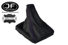 PURPLE STITCH LEATHER MANUAL GEAR GAITER SHIFT BOOT FITS VOLVO S70 V70 1996-2007