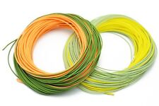 1 pcs 100FT WF-6F Weight Forward Floating Fly Fishing Switch Line Double Color