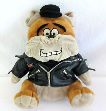 "Harley Davidson Motorcycle BullDog Stuffed Animal Plush Toy Biker Jacket 14""tall"