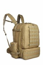 MOLLE II 3-Day Backpack Military Tactical Assault Shoulder Pack Tan