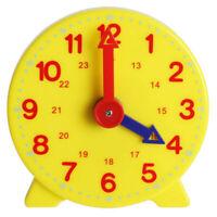 Children Educational Alarm Clock Adjustable Time Learning Clock Teaching Tool