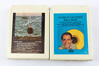 Perry Como: Golden Records & Self Titled 8 Track Tapes