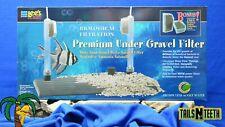 """Lee's Premium Under Gravel Filter for 10 Gal Aquariums - 10"""" x 20"""" #13152"""
