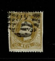 Portugal SC# 27, Used, Hinge Remnant - S6550