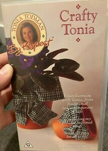 Tonia Todman By Request Volume 2 Crafty Tonia VHS TAPE (arts and crafts)