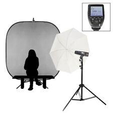 Individual Escuela Portátil Retrato Flash Kit Olympus/Panasonic Batería 200Ws