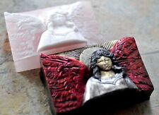 ANGEL SILICONE MOLD SOAP PLASTER RESIN WAX CLAY MOULD CHERUB