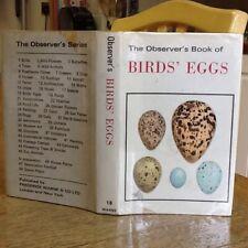 Observers Book Of Birds Eggs 1972 MC Boards N I L