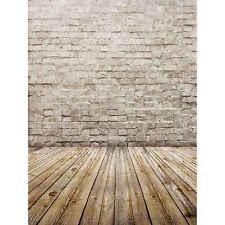 3x5ft Brick Wall Floor Studio Backdrop Vinyl Photography Photo Background Props