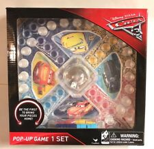 Disney Pixar CARS 3 Pop-up Board Game Toy McQueen Cruz Jackson Storm New Gift