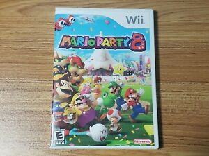 Mario Party 8 (Wii, 2007) Tested and Complete
