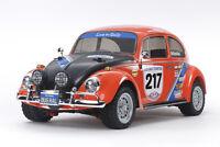 Tamiya 58650 VW Beetle Rally 4WD MF01 RC Kit - DEAL BUNDLE with Twin Stick Radio