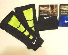 Nike Pro Combat Hypercool Vapor Shiver Forearm Compression Sleeve Grey Volt NEW
