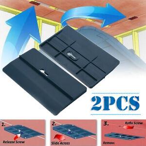 2Pcs/Set Decken Gipskartondübel Werkzeug Trockenbau Montagewerkzeug Gipsplatten