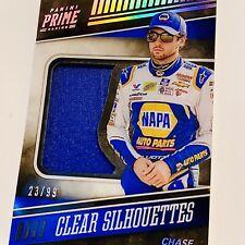CHASE ELLIOTT JUMBO FIRESUIT PATCH - HOLO #23/99! 2018 Panini PRIME NASCAR 🏁🔥