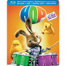 Hop Collectible SteelBook [Blu-ray + DVD + Digital, Region A, 2-Disc] NEW