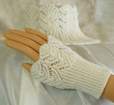 "HeartStrings ""Filigree Lace Ensembles"" Cap, Wrist and Neck Warmer, #A135"