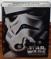 STAR WARS EL IMPERIO CONTRAATACA NUEVO STEELBOOK BLU-RAY ACCION (SIN ABRIR) R2