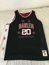 Harlem Globetrotters Marques Haynes Throwback Jersey Size Large Basketball Sewn