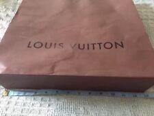 Louis Vuitton Paper Bag, Brown