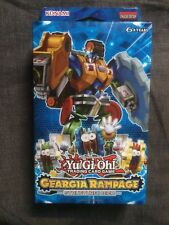 Yu-Gi-Oh! Geargia Rampage 1st Edition Structure Deck Factory Sealed