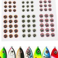 Outdoor Lifelike Fishing Self Adhesive Artificial Fish Eyes Fishing Hook Crafts