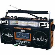 Radio Cassette MP3 Converter Player Recorder USB SD Retro Boombox Box Blaster