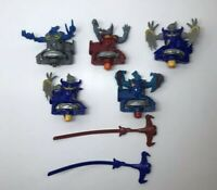 2012 Hasbro Tomy Beyblade Beywarriors Lot of 5 With 2 Rip Cords