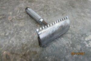 vintage speedway safety shaving razor all metal