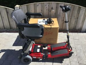 Red Luggie Elite  Mobility Scooter, Excellent cond. FREE DELIVERY