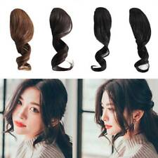 Girl Fake Hair Bangs Clip In Front Curled Hair Bang Fringe Hair Extension Piece