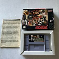 New listing Boxing Legends of the Ring- SNES Video Game w/ Orignal Box (Super Nintendo 1993)