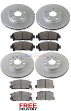 FOR TOYOTA MR2 GT TURBO (1992-2000) FRONT & REAR BRAKE DISCS & PADS SET *NEW*