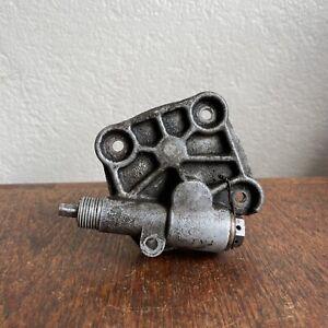 Porsche 356 A B Mechanical Tachometer Drive OIL PUMP COVER Tach w/ Both Gears