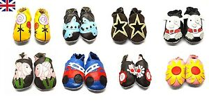 Baby Shoes Soft Leather 0-6 6-12 12-18 18-24 years old