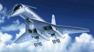 ICM 1:144 scale model kit - Tupolev-144 Soviet Supersonic Aircraft {ICM14401}